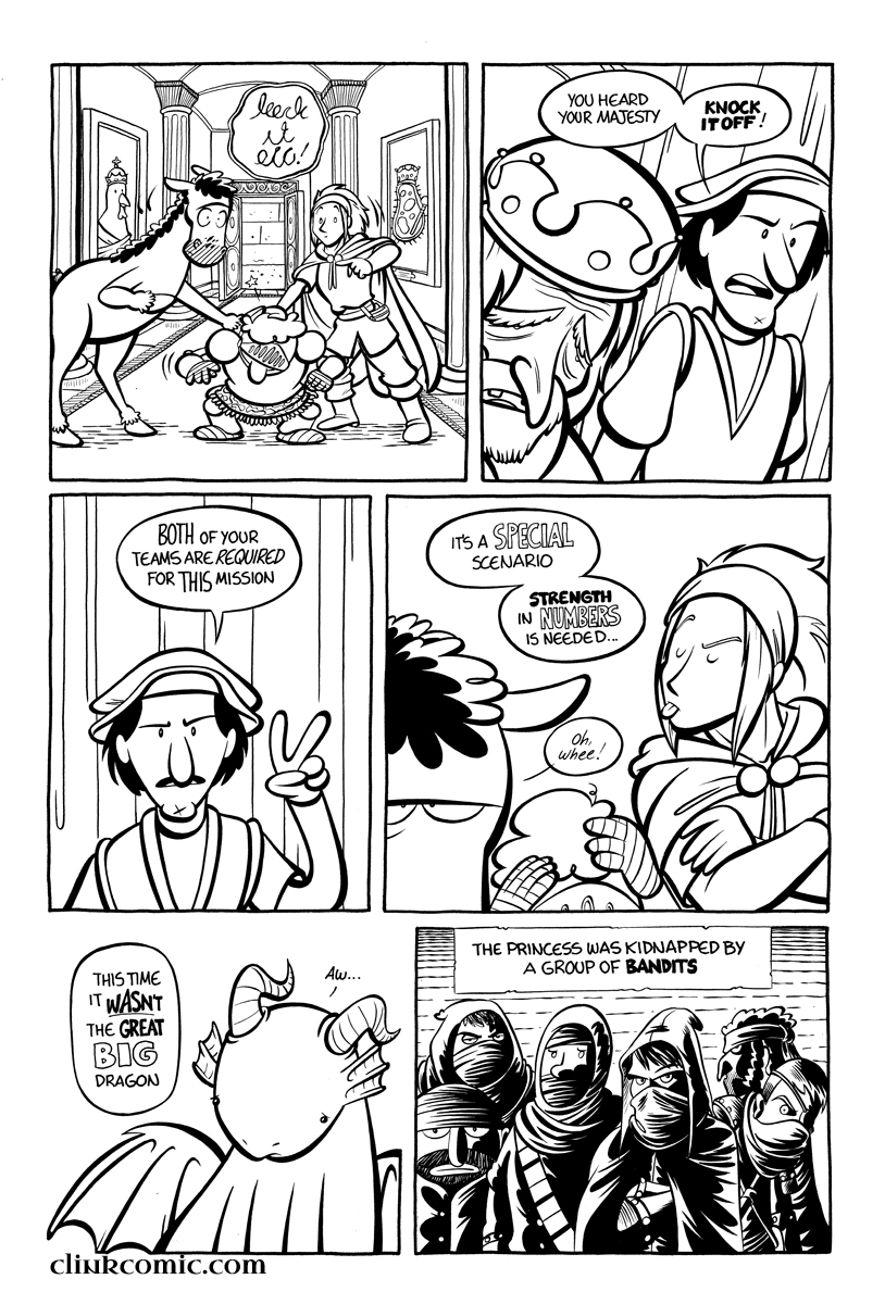 Divide and Conquer #1, Page 5
