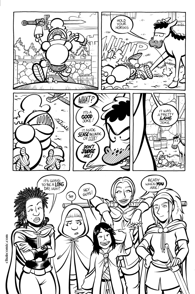 Divide and Conquer #1, Page 9