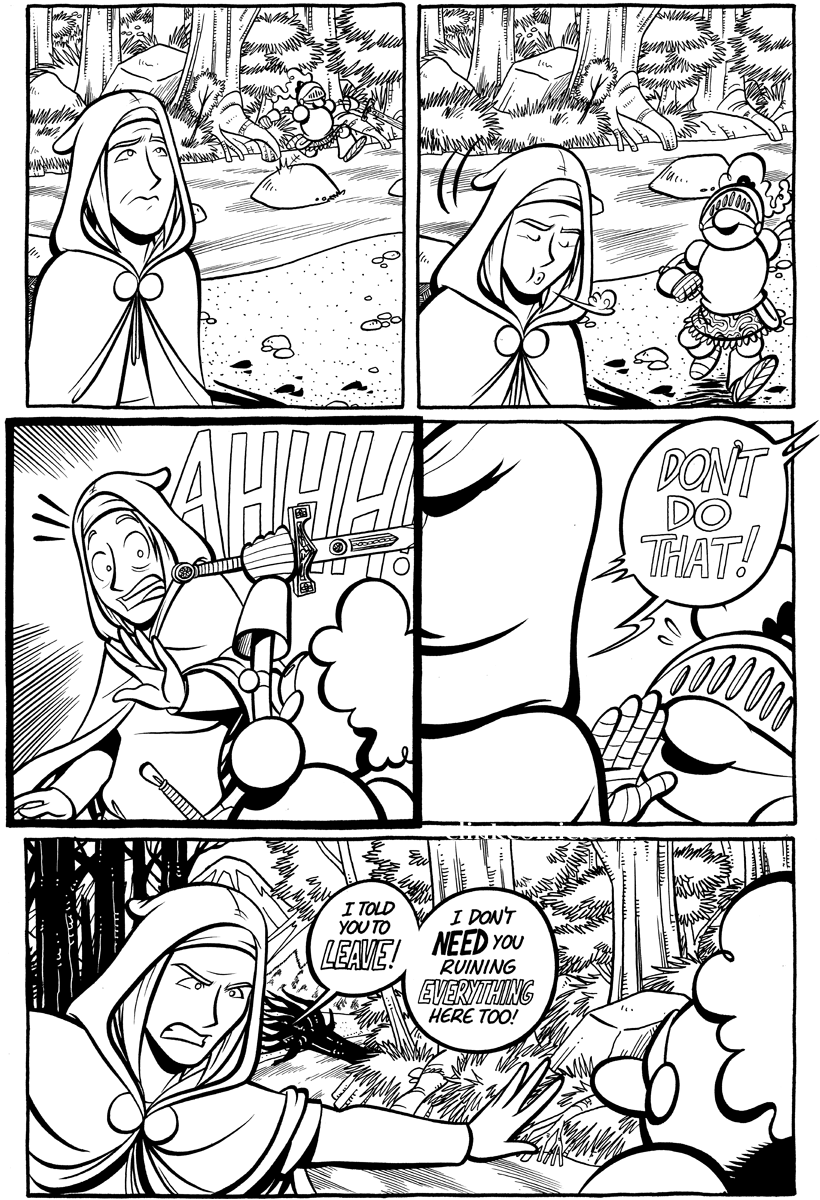 Divide and Conquer #3, Page 13