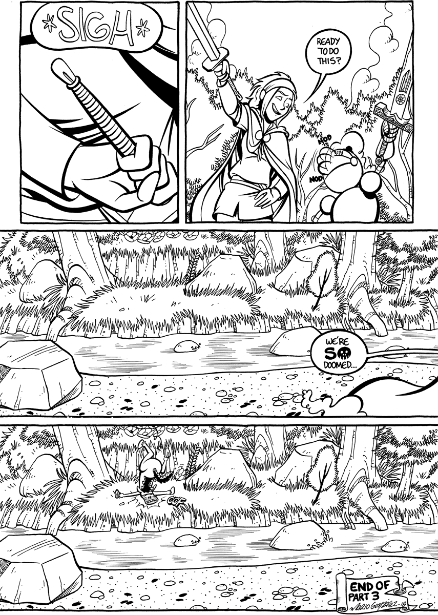Divide and Conquer #3, Page 20