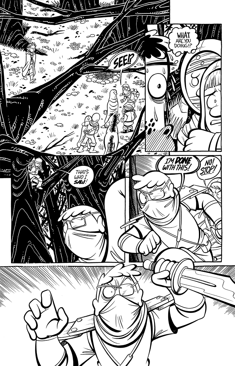 Divide and Conquer #4, Page 12