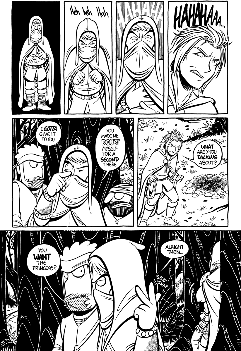Divide and Conquer #4, Page 16