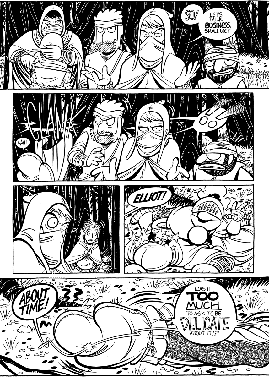 Divide and Conquer #4, Page 18