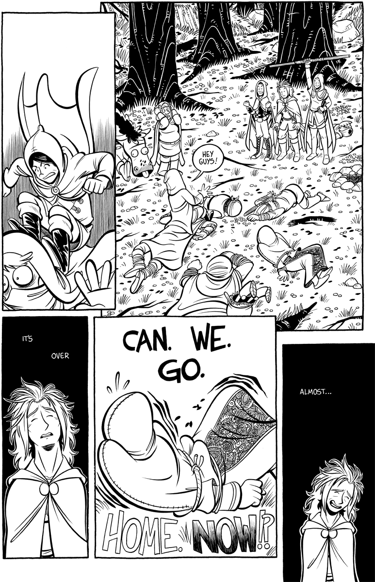 Divide and Conquer #4, Page 21